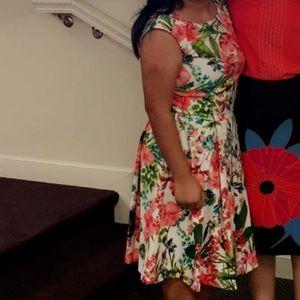 Danny & Nicole floral tropical dress
